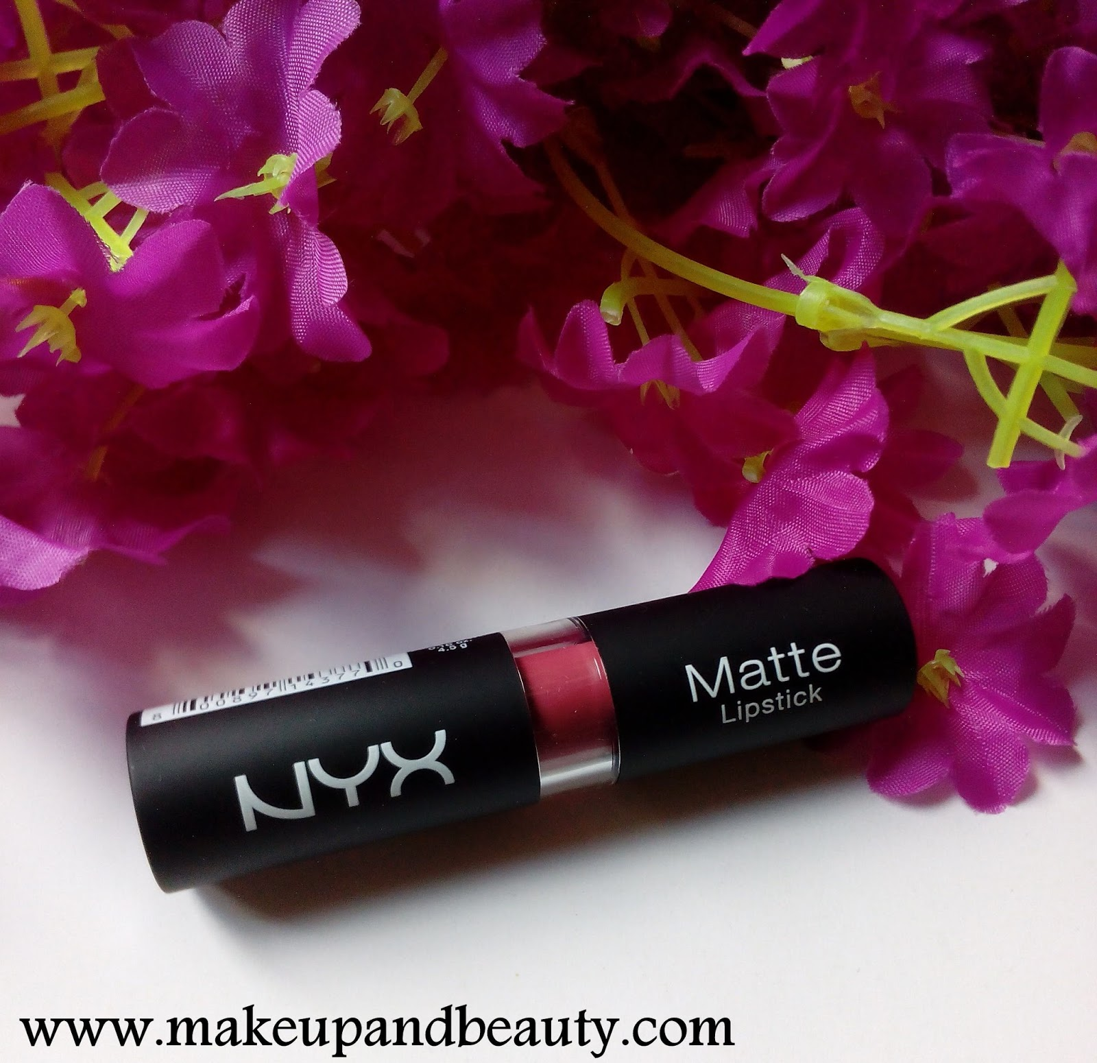 Makeup And Beauty Review And Swatches Of Nyx Matte Lipstick In
