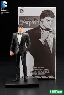 San Diego Comic-Con 2016 Exclusive DC Comics Bruce Wayne ARTFX+ Statue by Kotobukiya