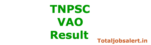 TNPSC VAO Result