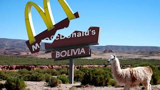 McDonald's quebro en Bolivia