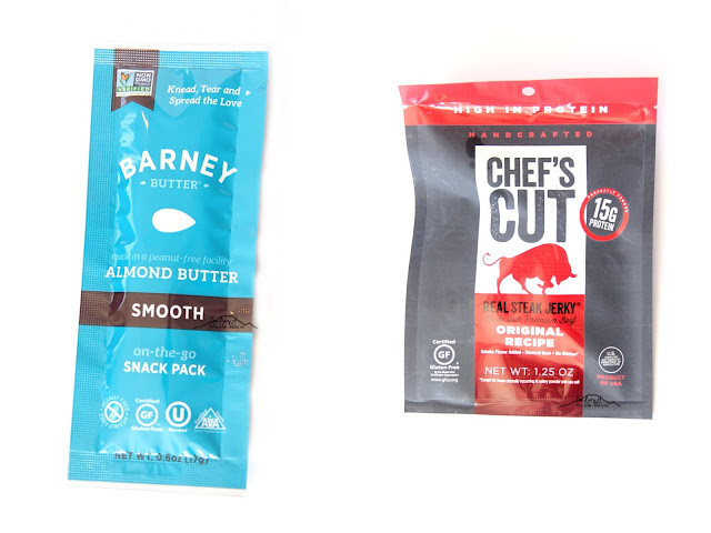 Barney Butter Smooth Almond Butter Chef's Cut Real Steak Jerky