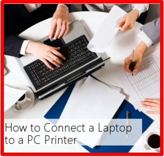How to Hook Up Laptop to Printer