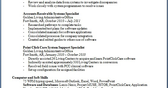 business systems specialist resume format in word free