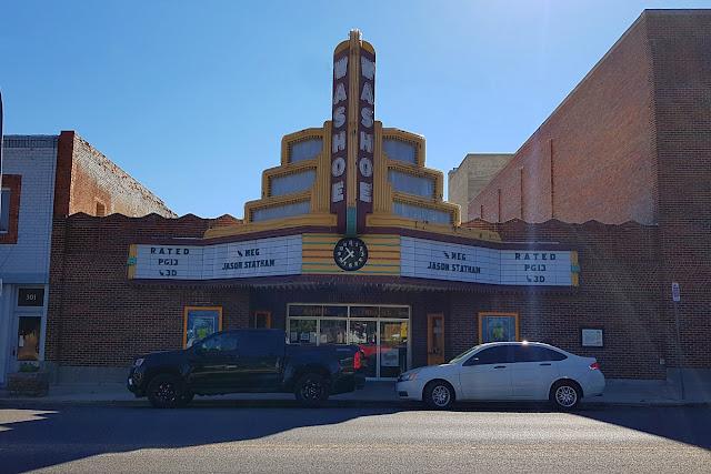 Anaconda, Montana's Washoe Theatre...