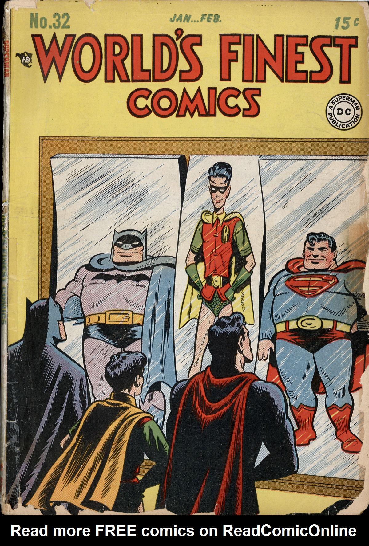 Read online World's Finest Comics comic -  Issue #32 - 1