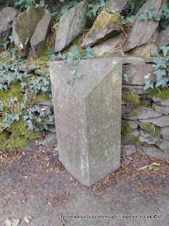 Parish Boundary Marker Brand Lane Woodhous Eaves