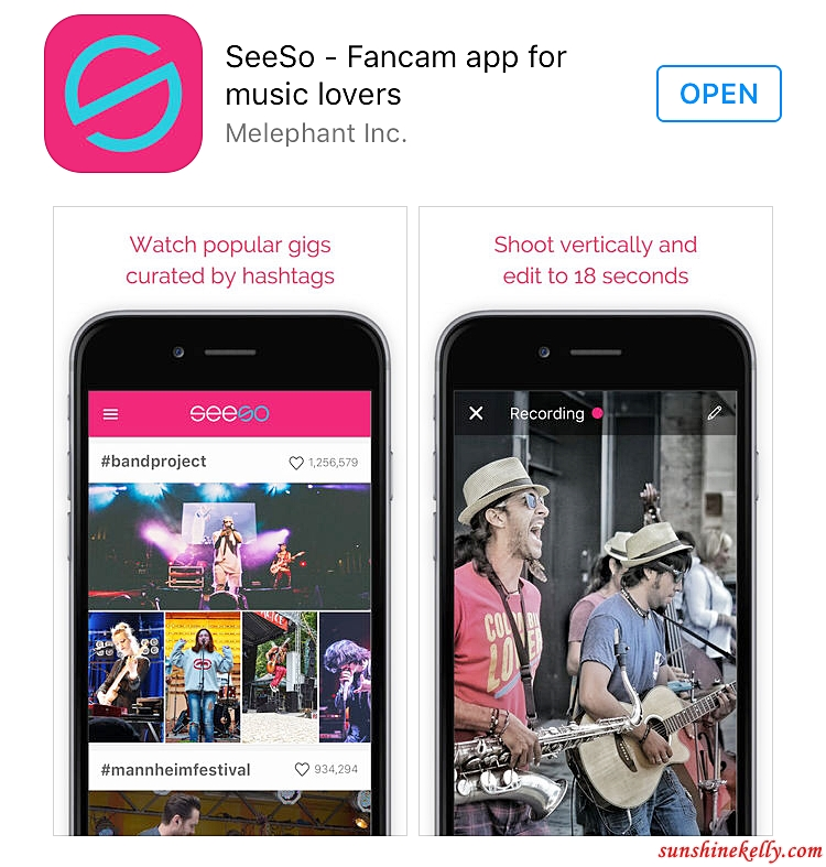 Sunshine Kelly Beauty Fashion Lifestyle Travel Fitness App Review Seeso Fancam For