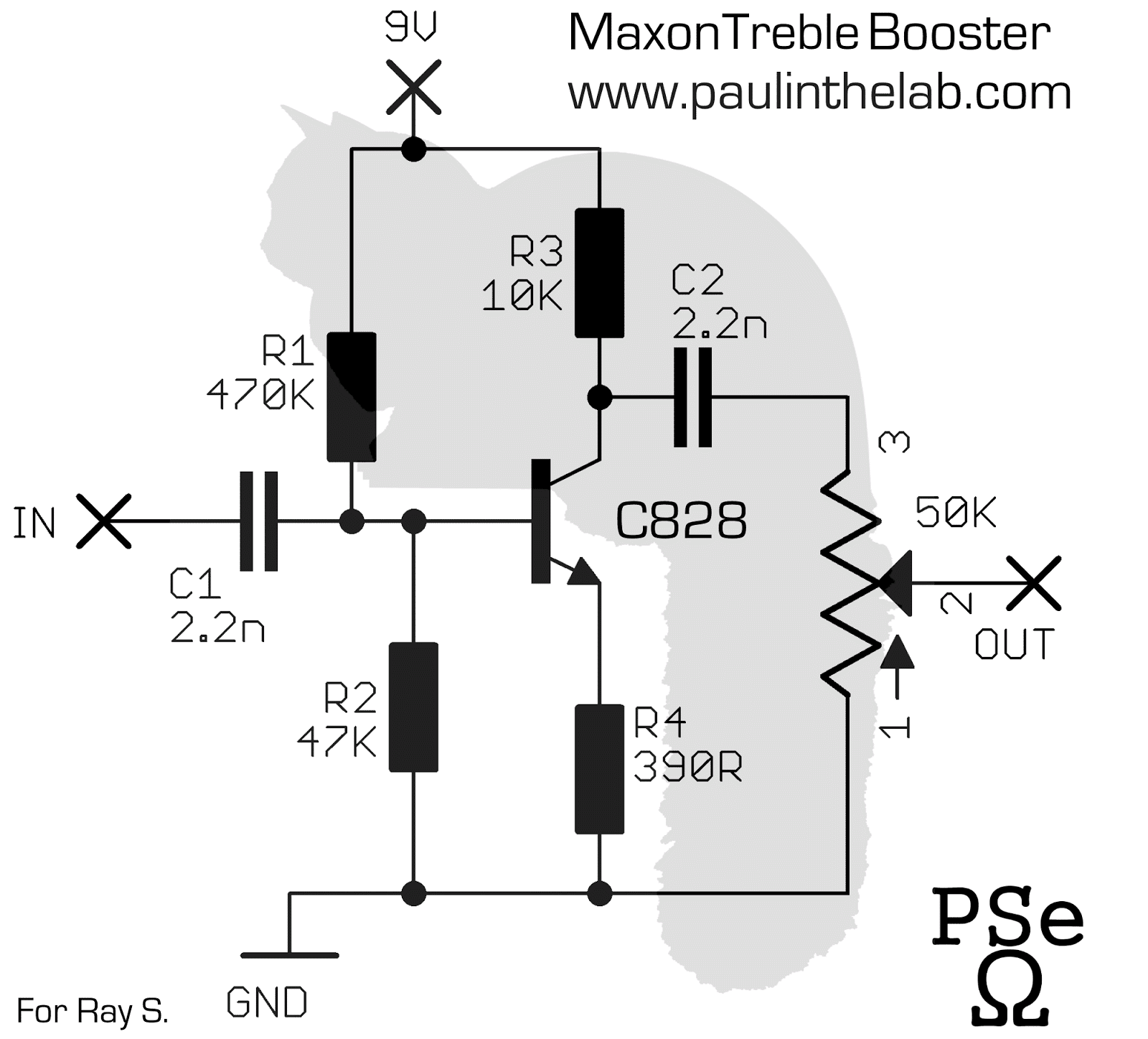 Treble Booster Schematic Paul In The Lab Maxon Stripboard Layout 1600x1447