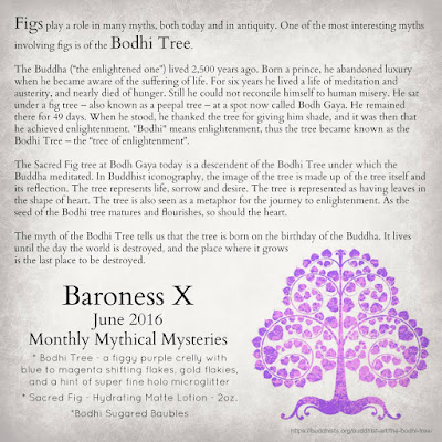 Baroness X Monthly Mythical Mysteries • June 2016 Bodhi Tree