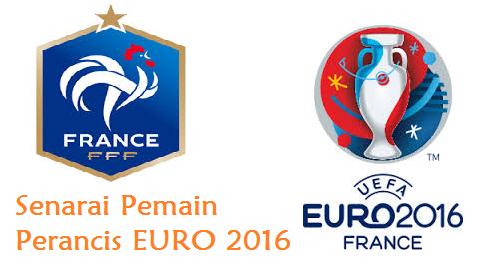 skuad Perancis EURO 2016