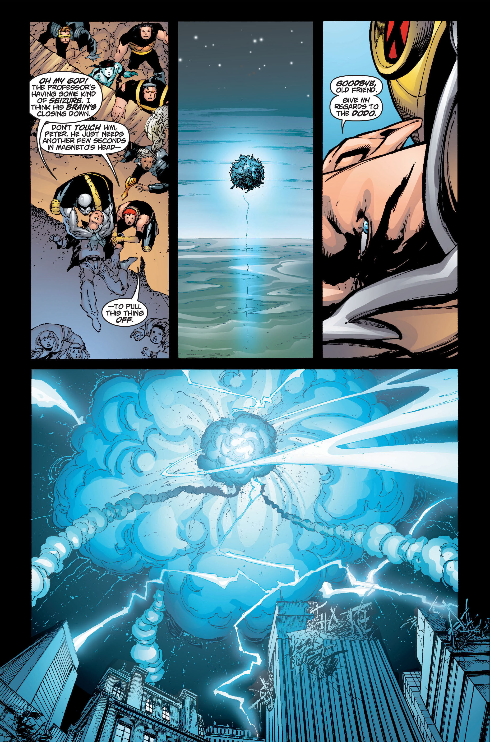 Read online Ultimate X-Men comic -  Issue #6 - 21