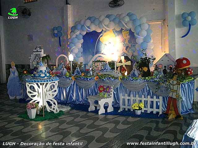 Tema Cinderela - Decoração para festa de aniversário