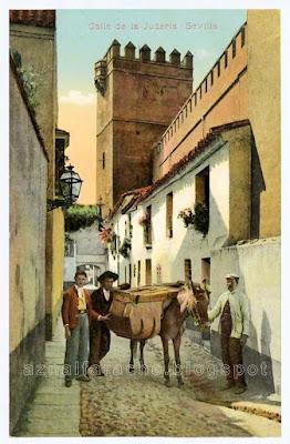 Sevilla - Calle de la Juderia (1910) - Col. M. Chaparteguy 28651
