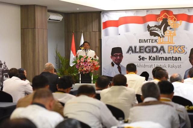 PKS Komitmen Awasi Pemerintahan dari Luar