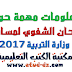 معلومات مهمة حول الامتحان الشفوي لمسابقات وزارة التربية 2017