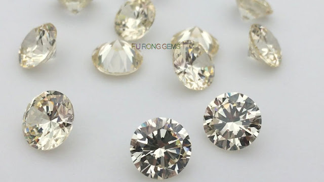 Canary-yellow-Color-Cubic-Zirconia-Round-10mm-Gemstones-wholesale
