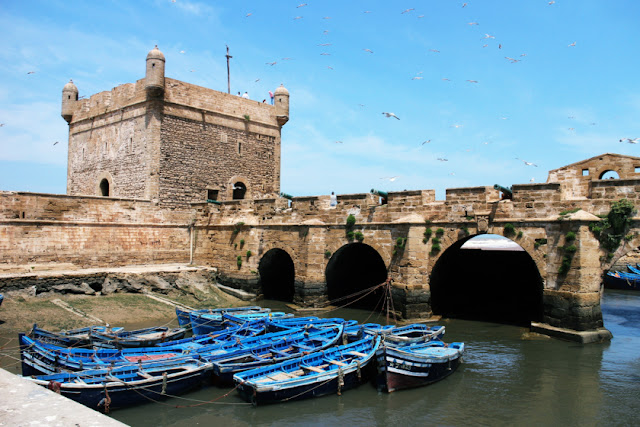 Old Portugese fort in Essaouira, Morocco