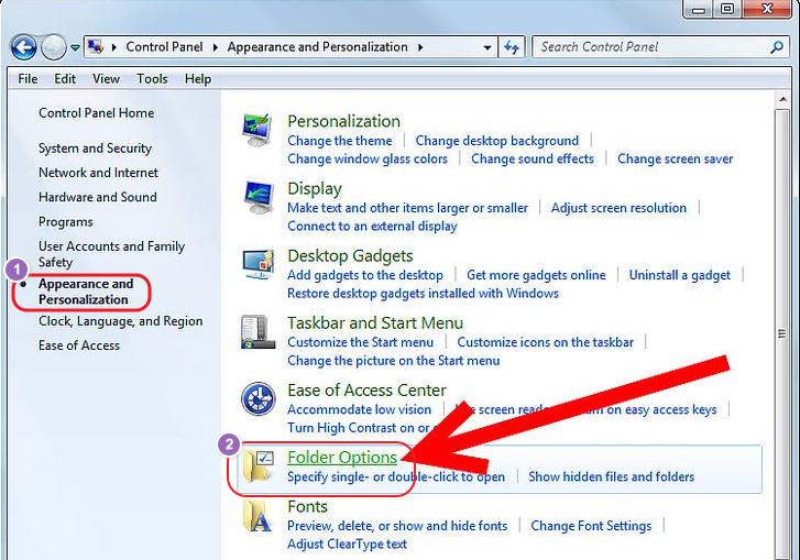 Cara melihat file tersembunyi di Windows