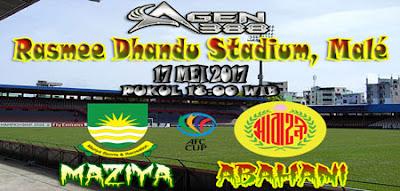 JUDI BOLA DAN CASINO ONLINE - PREDIKSI PERTANDINGAN AFC CUP MAZIYA VS ABAHANI 17 MEI 2017