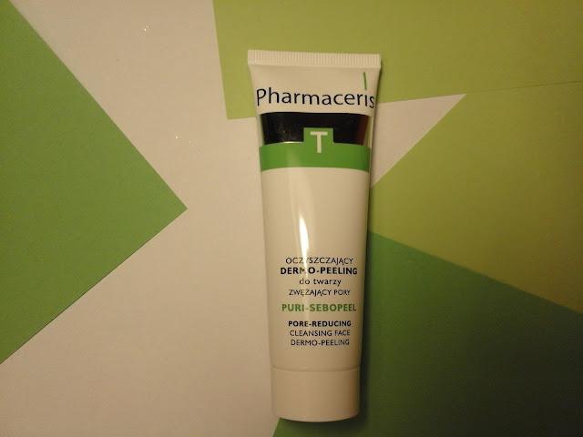 Oczyszczający dermo-peeling zwężający pory - pielęgnacja cery trądzikowej | Pharmaceris T