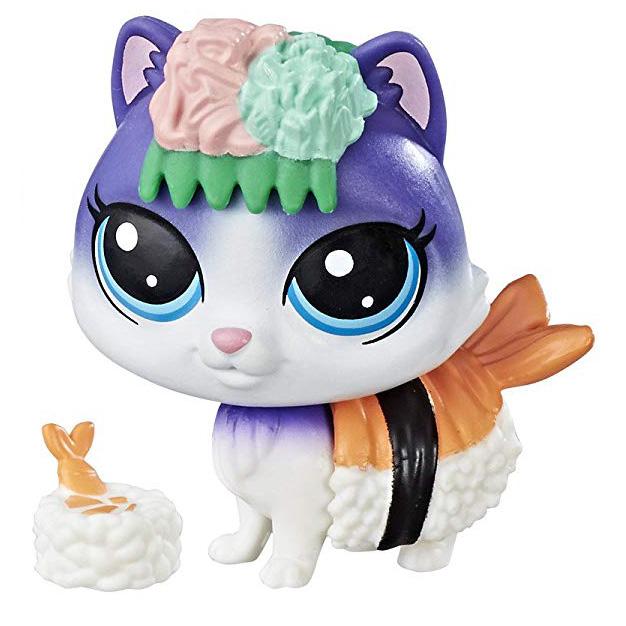 Littlest Pet Shop Series 3 Hungry Pets Sushiko Catson 3