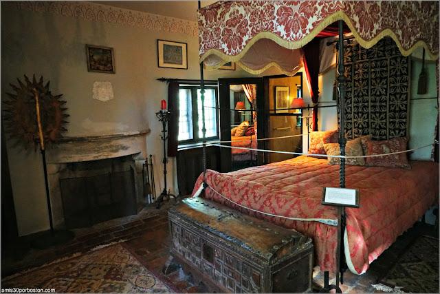 Habitación Medieval del Castillo Hammond, Gloucester