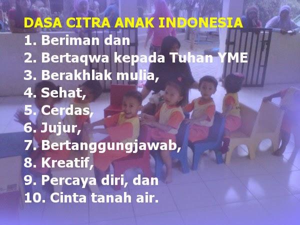 Dasa Citra Anak Indonesia – Profil Anak Indonesia Harapan