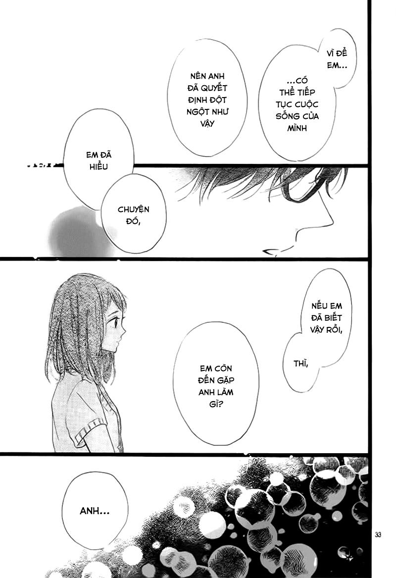 Honey (MEGURO Amu) chap 37 - Trang 35