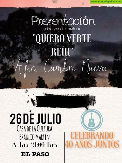"""La Asociación Folclórica Cumbre Nueva presenta """"Quiero Verte Reír"""""""