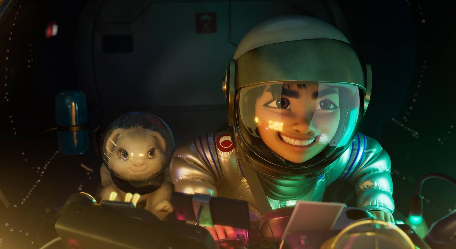 OverTheMoon - A Caminho da Lua - Nova Animação Netflix