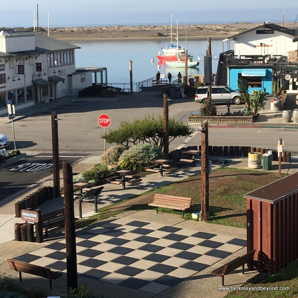 Giant Chess Board in Morro Bay, California