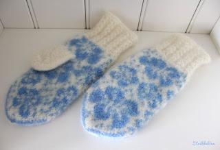 strikkeoppskrift på votter