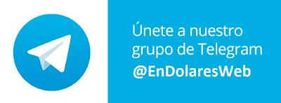 Únete al nuevo canal de Telegram de @EnDolaresWeb