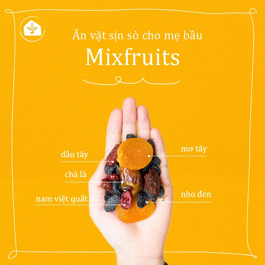[A36] Bà Bầu nên ăn những loại quả và hạt nào để con thông minh?