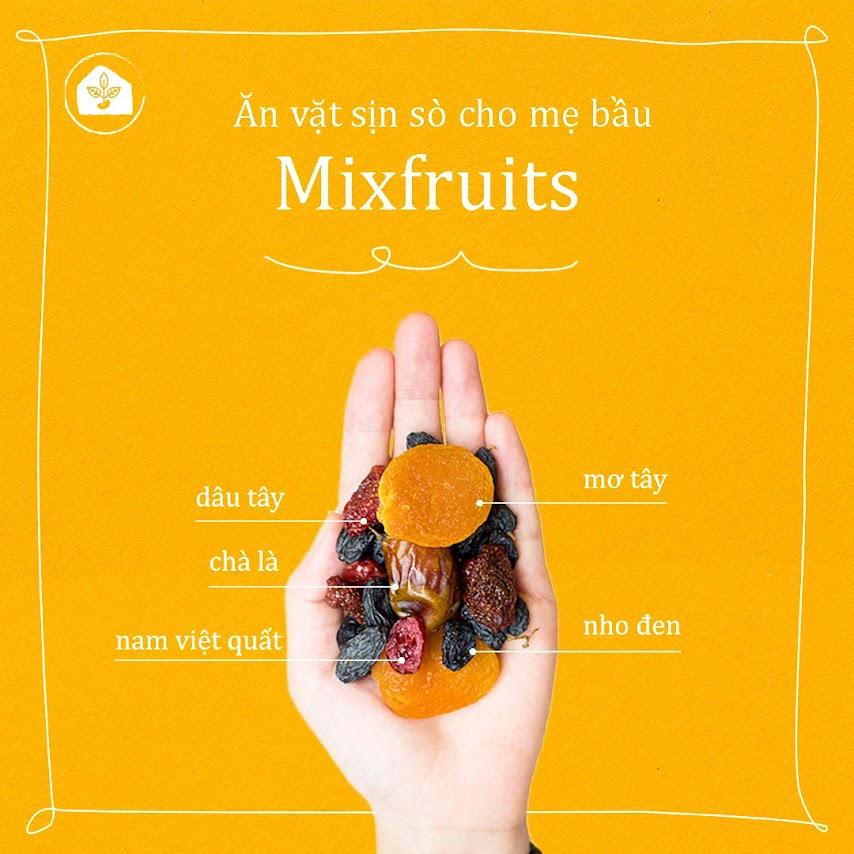 Mixfruits - Món quà dinh dưỡng cho Bà Bầu