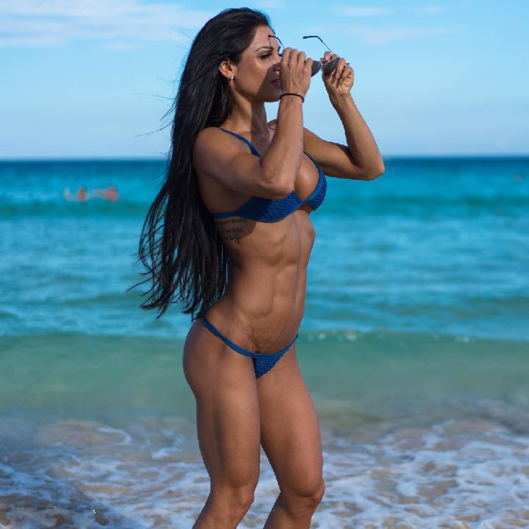 body fitness bikini Anita Herbert
