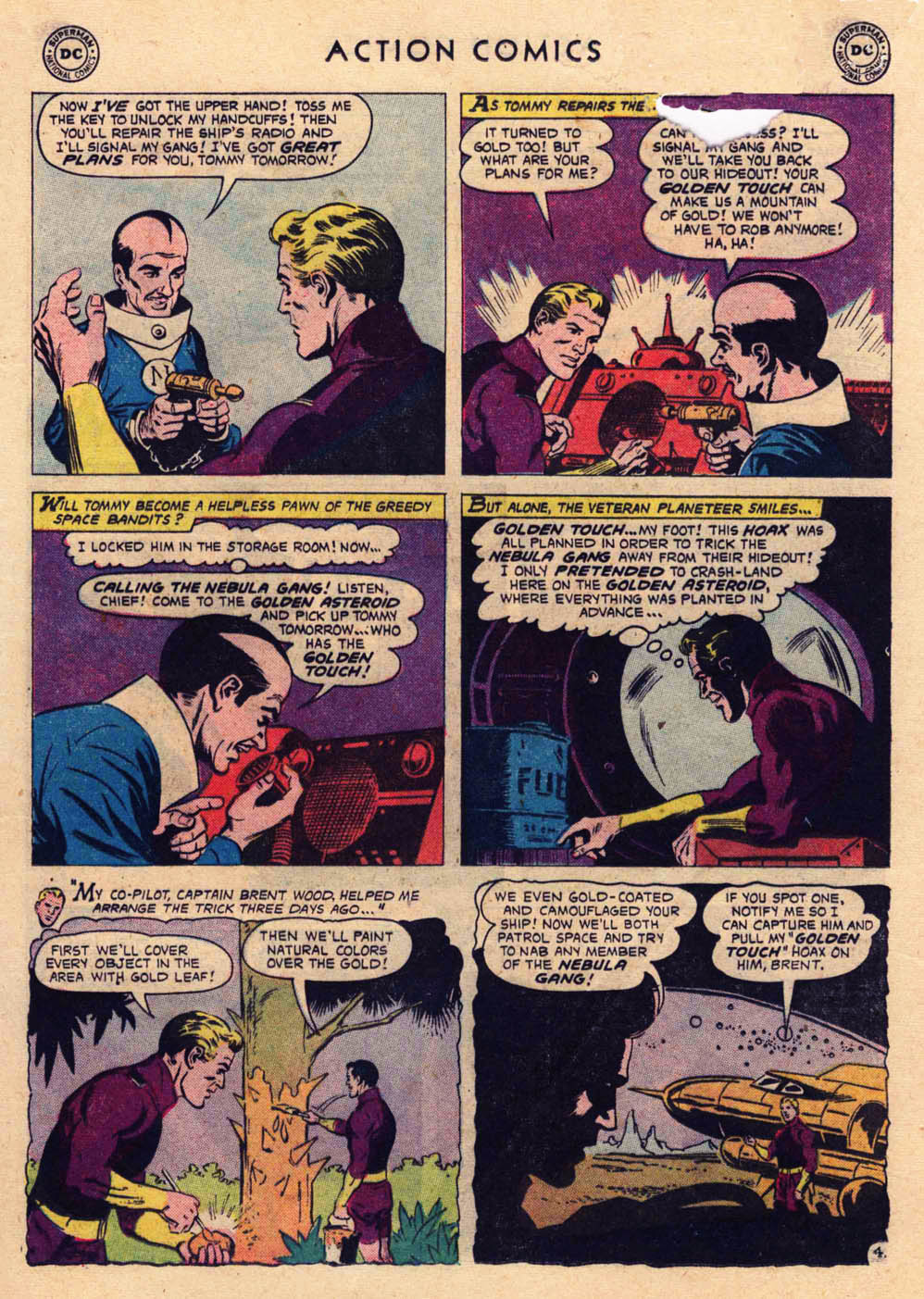 Read online Action Comics (1938) comic -  Issue #237 - 21