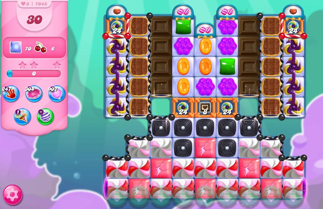 Candy Crush Saga level 7945
