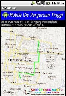 Download Gratis Source Code Aplikasi Mobile GIS Lokasi Perguruan Tinggi