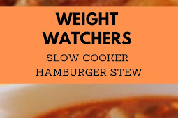 Weight Watchers Slow Cooker hamburger stew