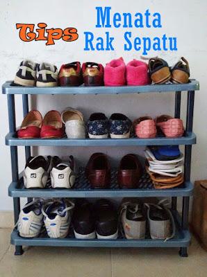 Tips Menata Rak Sepatu