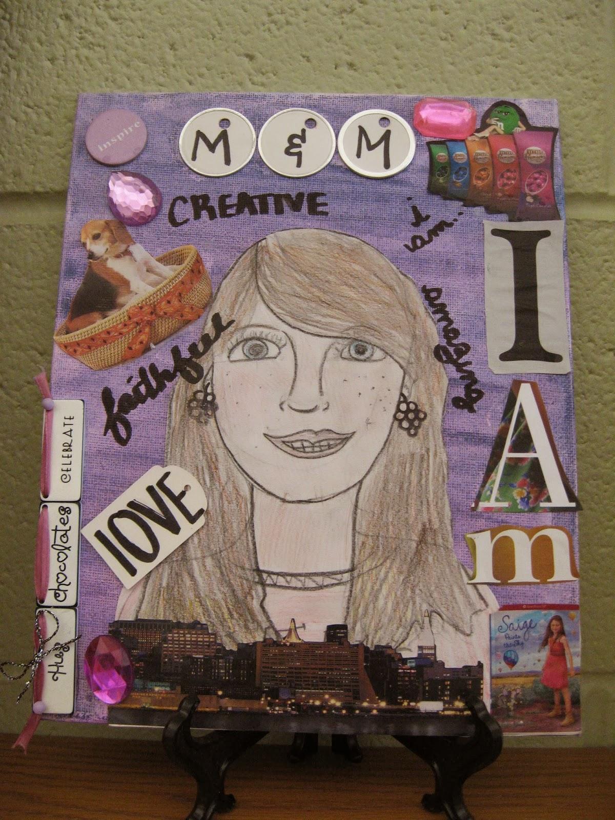 Jamestown Elementary Art Blog 5th Grade Self Portrait Collage