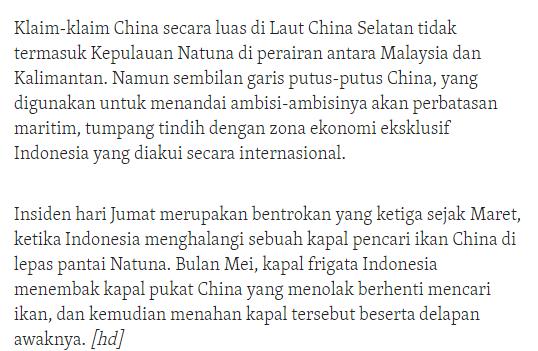 Meskipun Di Protes Oleh China TNI AL Bersikeras akan Tetap Ambil Tindakan Tegas Terhadap Kapal Kapal Asing Yang Langgar Aturan Negara Republik Indonesia