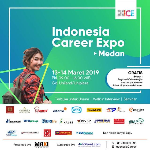Job Fair Medan GRATIS 2019