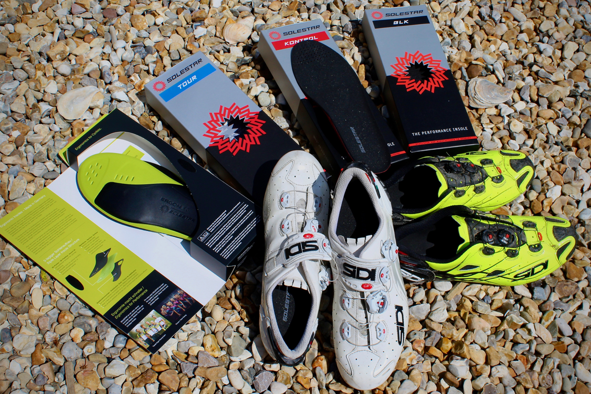 Review SOLESTAR Supportive Cycling Insoles