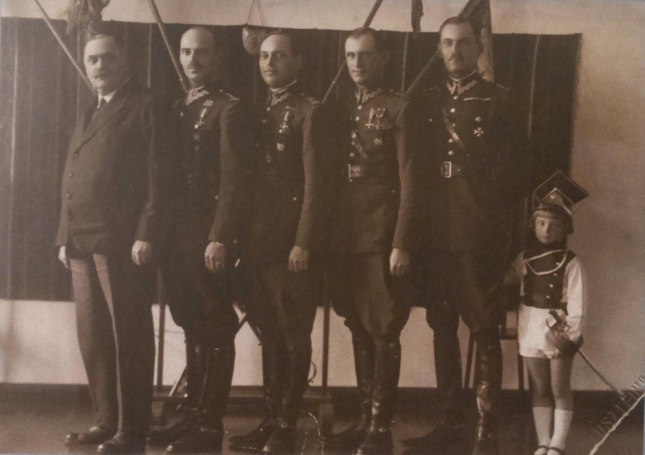 Rodzina Andersów, lata trzydzieste XX w.