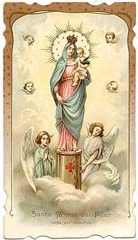 Puntadas Marianas Milagros De La Virgen Del Pilar