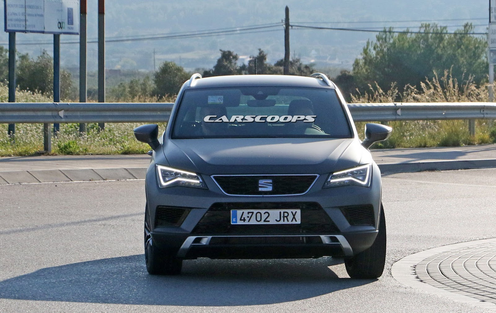 Hot Seat Ateca Cupra Spotted On Public Roads Completely