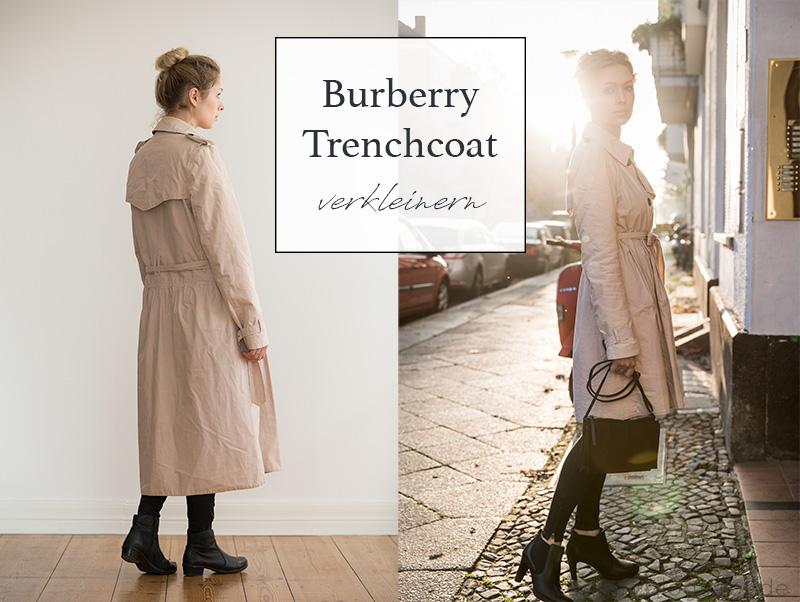 Verkleinerter Burberry Trenchcoat | von mri