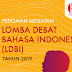 Inilah Pedoman Lomba Debat Bahasa Indonesia (LDBI) SMA 2019